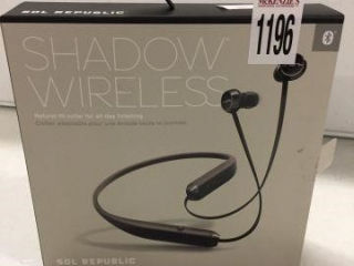 SHADOW WIRELESS HEADPHONES (IN SHOWCASE)