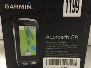 GARMIN TOUCHSCREEN GOLF GPS (IN SHOWCASE)