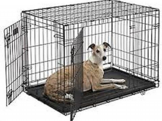 MIDWEST DOUBLE DOOR DOG CRATE X-SMALL