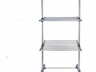 FOLDABLE 3 TIER CLOTHES INDOOR LAUNDRY DRYING RACK