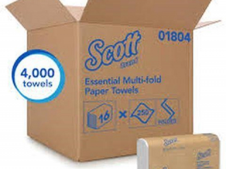 16 SETS OF SCOTT MULTIFOLD PAPER TOWELS