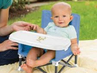 SUMMER INFANT POPNSIT PORTABLE BOOSTER SEAT