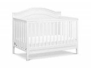DAVINCI CHARLIE 4IN1 CONVERTIBLE CRIB IN WHITE