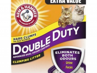 ARM & HAMMER DOUBLE DUTY CLUMPING LITTER 40LBS