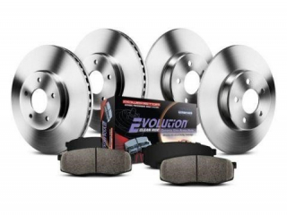 POWERSTOP OE REPLACEMENT FRONT AND REAR BRAKE KIT