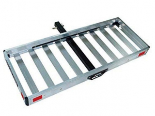 TRICAM HITCH-MOUNTED ALUMINUM CARGO CARRIER