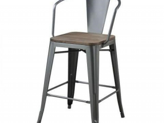 COUNTER HEIGHT CHAIR APPROX. 3'