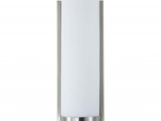LINEA BATHROOM VANITY LIGHT W/ FROSTED SHADE
