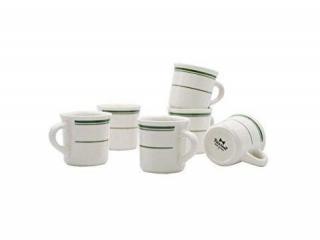 TUXTON HOME CERAMIC COFFEE MUG 6PCS
