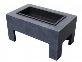 ASTELLA MONOLITH STEEL WOOD FIRE PIT