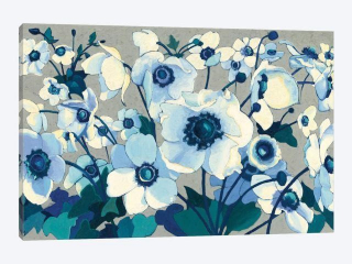 ANEMONES CANVAS ARTWORK 60