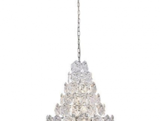 LONDON 12 LIGHT 24'' CHROME CHANDELIER
