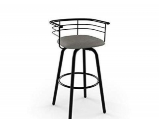 AMISCO TURBO SWIVEL METAL COUNTER STOOL