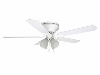 Craftmade Flush Mount Ceiling Fan with