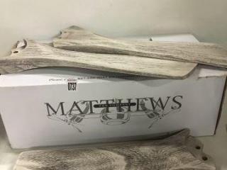 MATTHEWS FAN COMPANY 3 PIECE BLADES 42