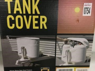 TANK COVER POLAR WHITE SINGLE 20 5 GALLONS