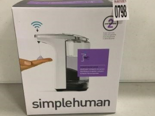 SIMPLE HUMAN TOUCHLESS SOAP PUMP