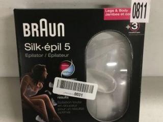 BRAUN SILK 5 EPILATOR