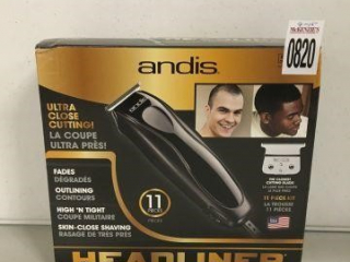 ANDIS 11 PIECE KIT SHAVER