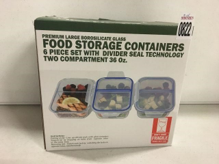 MISC HOME 6 PCS FOOD STORAGE CONTAINERS