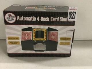 FATCAT 4-DECK CARD SHUFFLER