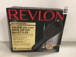 REVLON SALON HAIR DRYER AND STYLER