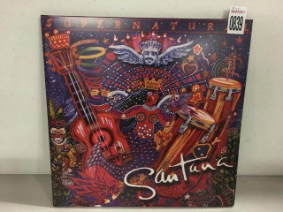 SANTANA RECORD ALBUM