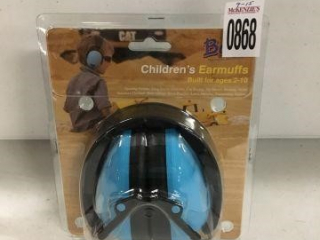 BANZ CHILDREN'S EARMUFFS