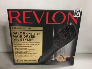 REVLON HAIR DRYER AND VOLUMIZER