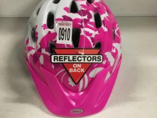 REFLECTORS BICYCLE HELMET FOR KIDS 52-56CM