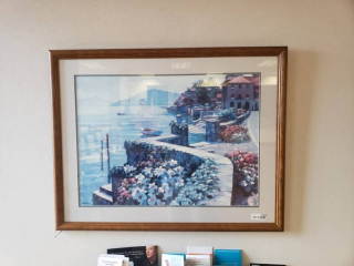 Large framed artwork- 38