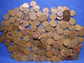 124 Lincoln Cents/Penny