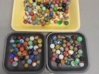 Large Assortment of Early Marbles