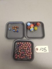 Assortment of Early Marbles