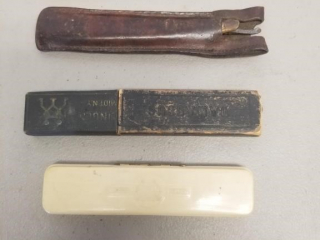 (4) Early Straight Razors in Boxes