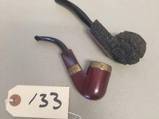 2 Early Tobacco Pipes