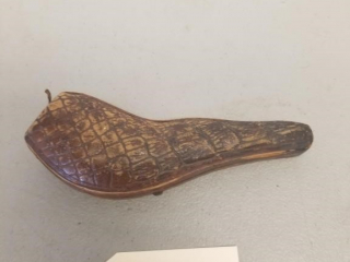 Early Hand Ccarved French Briar Pipe