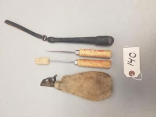 (4) Vintage Tools