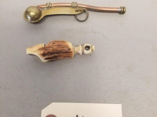 (2) Vintage Whistles