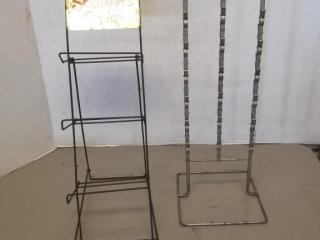 (2) Candy Store Display Racks