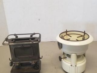 (2) Vintage Oil Stoves