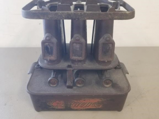 Large Florence 3 Burner Cast Iron Oil Stove
