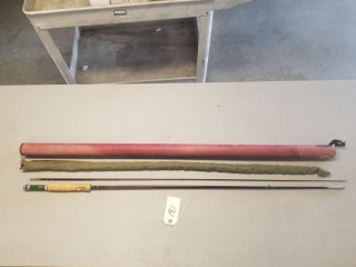 South Bend Hollow Glass Fly Fishing Rod