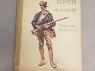 """Frederick Remington's """"Done in the open"""" Book"""