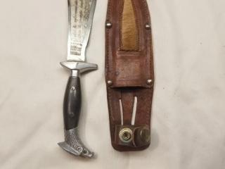 Custom Nepus Mexico Made Fixed Blade Knife
