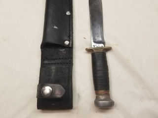Marbles marked fixed blade knife