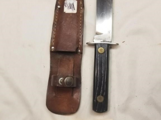 Unmarked fixed blade knife
