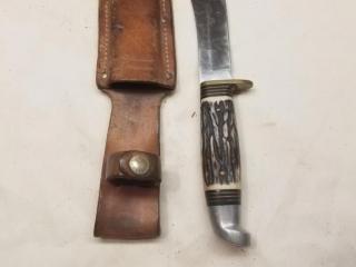 Western skinner fixed blade