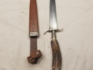 German dual edge fixed blade