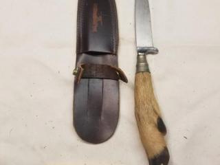 A. W. JR. Solingen fixed blade
